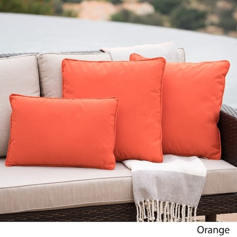 Coronado Outdoor Pillow (Set of 3) by Christopher Knight Home