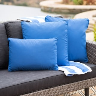 Link to Coronado Outdoor Pillow (Set of 3) by Christopher Knight Home Similar Items in Outdoor Cushions & Pillows