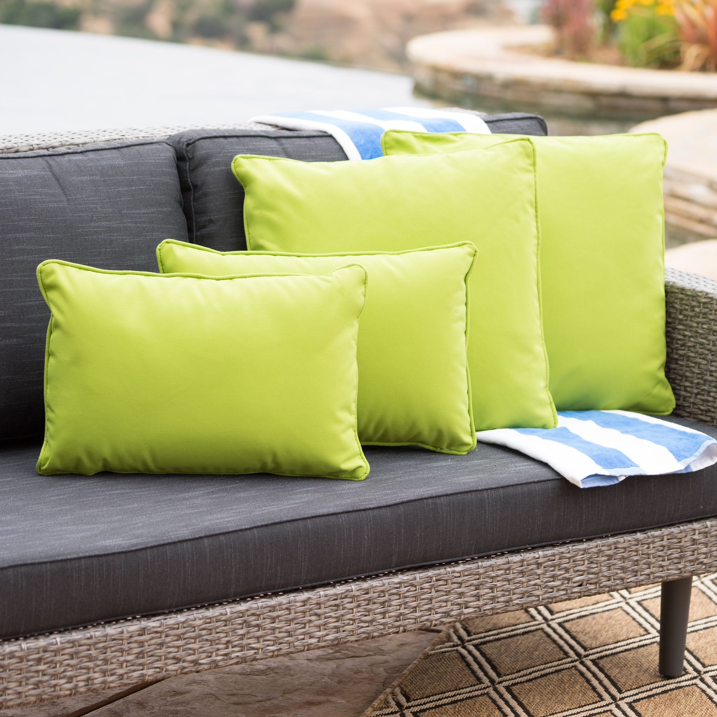 Buy Outdoor Cushions Pillows Online At Overstock Our