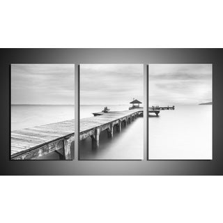 'The Pier' Canvas 3-piece Gallery-wrapped Art Set