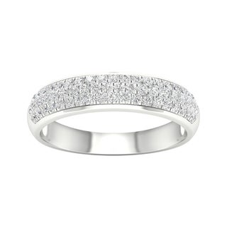 De Couer 1/2ct TDW Diamond Wedding Band