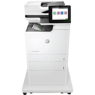 HP LaserJet M681z Laser Multifunction Printer - Color - Plain Paper P