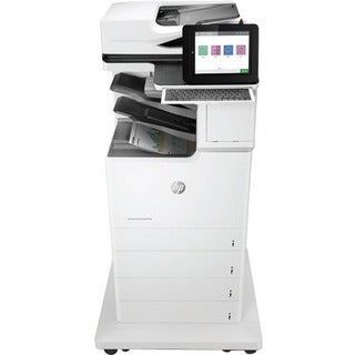 HP LaserJet M681f Laser Multifunction Printer - Color - Plain Paper P