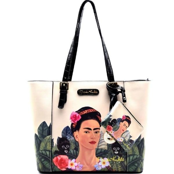 3fe3bf46a Shop Frida Kahlo Jungle Series Shopper Tote Bag with Coin Purse ...