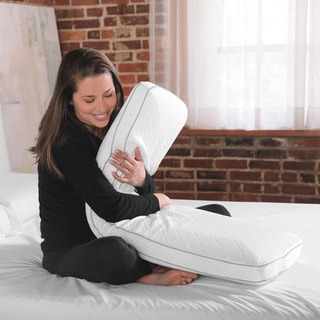 SwissLux Cooling Memory Foam Body Pillow