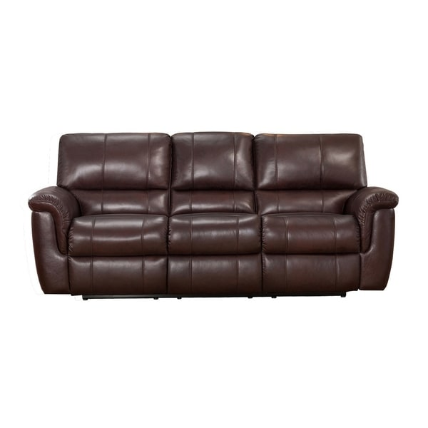Shop Aventura Leather Sofa Recliner Free Shipping Today