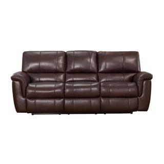 Aventura Leather Sofa Recliner