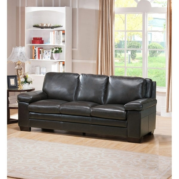 Miramar Leather Sofa