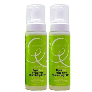 DevaCurl Frizz-Free 7.5-ounce Volumizing Foam (Pack of 2)