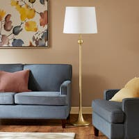 Madison Park Signature Geneva Gold Floor Lamp