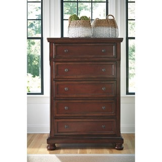 Signature Design by Ashley Porter Rustic Brown Chest