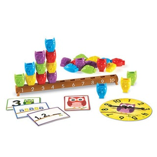 Learning Resources 1-10 Counting Owls Activity Set