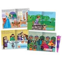 Educational Insights Hot Dots Jr. Princess Fairy Tales Set with Magical Talking Wand Pen
