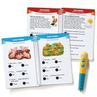Educational Insights Hot Dots Jr. Let's Master Grade 1 Reading Set with Hot Dots Pen