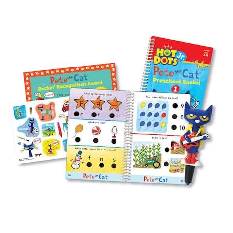 Educational Insights Hot Dots Jr. Pete the Cat - Preschool Rocks! Set with Pete Pen