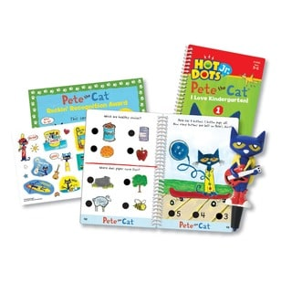 Educational Insights Hot Dots Jr. Pete the Cat - I Love Kindergarten! Set with Pete Pen