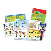 Educational Insights Hot Dots Jr. Pete the Cat - Kindergarten Rocks! Set with Pete Pen