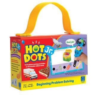 Educational Insights Hot Dots Jr. Card Set - Problem Solving|https://ak1.ostkcdn.com/images/products/16095666/P22478936.jpg?impolicy=medium