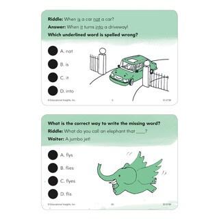 Educational Insights Hot Dots Laugh It Up! Spelling Set - Grades 1-3