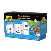 Educational Insights Hot Dots Math Flash Cards - More Addition