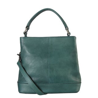 Link to Diophy Top Handle Genuine Leather Tote Bag Similar Items in Shop By Style