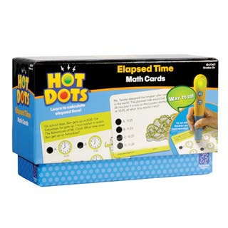 Educational Insights Hot Dots Elapsed Time Math Cards|https://ak1.ostkcdn.com/images/products/16095823/P22478957.jpg?impolicy=medium