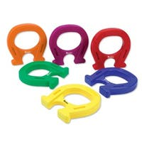 """Learning Resources Primary Science 5"""" Mighty Magnets, Set of 6"""
