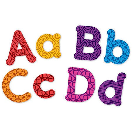 Learning Resources Magnetic Uppercase & Lowercase Letters