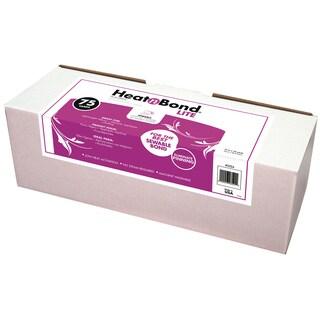 "Heat'n Bond Lite Iron-On Adhesive-White 17""X75yd FOB: MI"