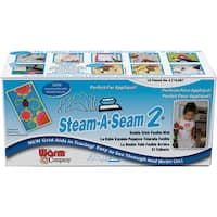 "Steam-A-Seam 2 Double Stick Fusible Web-12""X40yd FOB: MI"