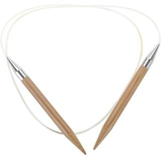 "Bamboo Circular Knitting Needles 40""-Size 35/19mm"
