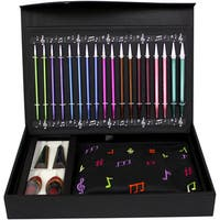 "Melodies Of Life ""Zing"" Interchangeable Needle Set-9 Pairs / 4 Cords / Accessories"