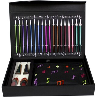 """Melodies Of Life """"Zing"""" Interchangeable Needle Set-9 Pairs / 4 Cords / Accessories"""