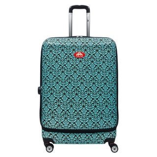 NUKI Front Accessible Rococo 20-inch Hardside Carry On Spinner Suitcase