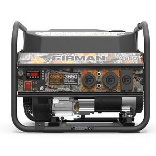 Firman Performance Series P03609 Camo Edition Gas Powered 3650/4550-watt Portable Generator
