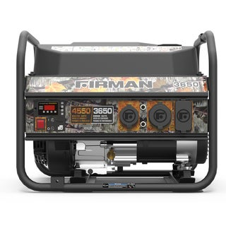 Firman P03609 Performance Series Gas Powered 3650/4550 Watt Camo Portable Generator