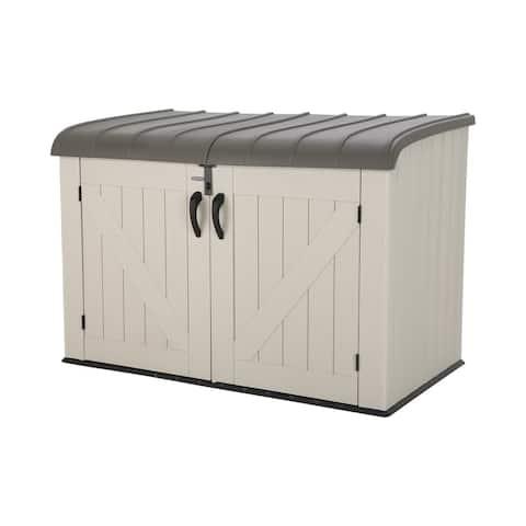 Lifetime Horizontal Storage Shed (75 cubic feet)