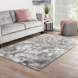 mondrian abstract gray white area rug 5u0027 x