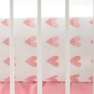 My Baby Sam Sweet Hearts Crib Sheet