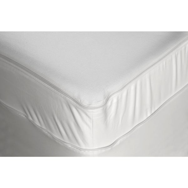 Fashion Bed EZ-zip Twin-size 7 - 18-inch Thick Expandable Total Mattress Encasement with Stain Protection and Bedbug Defense
