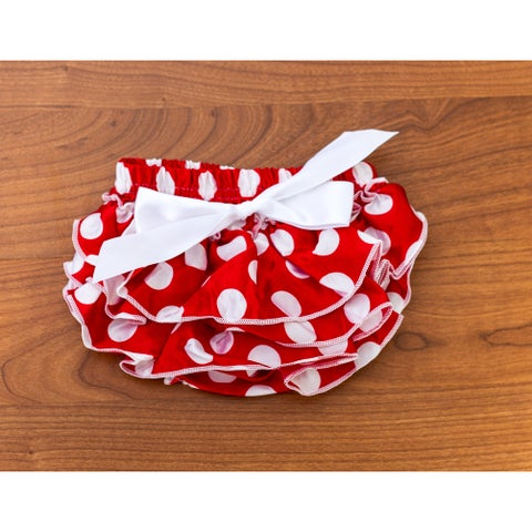 Red And White Polka Dot Bloomer