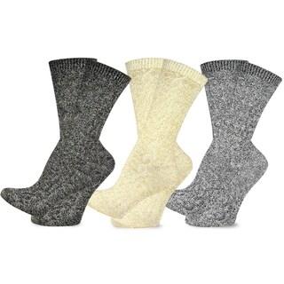 Teehee Women's Fashion Basic Crew Socks - 3 Pairs Pack