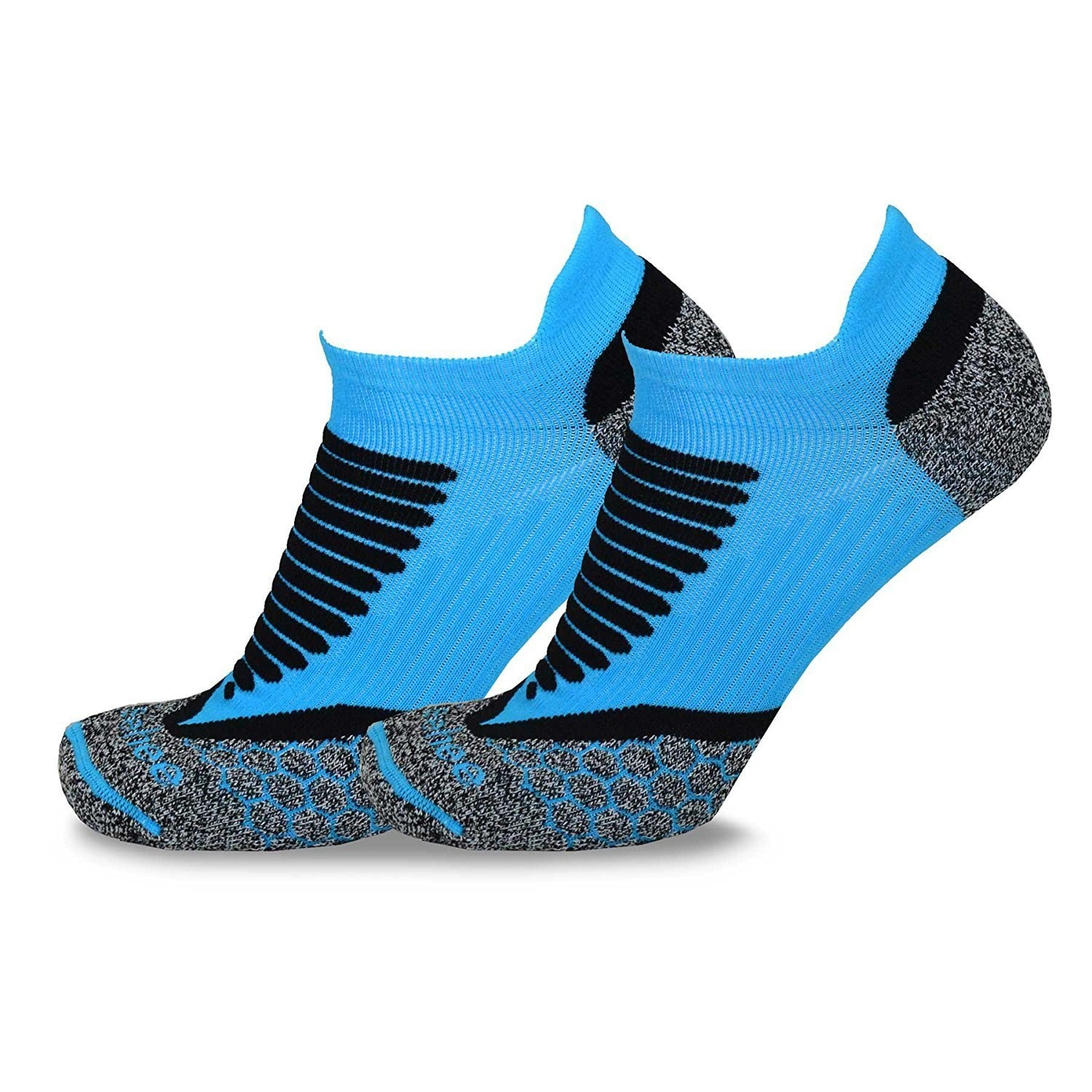 TeeHee Athletic Sports Functional Compression Cushioned Socks 3-Pack