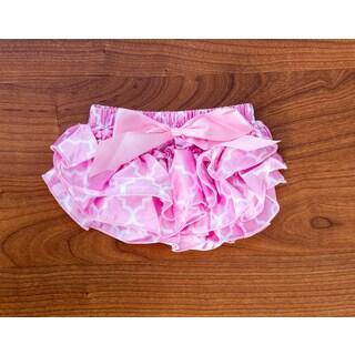 Pink Lattice Bloomer