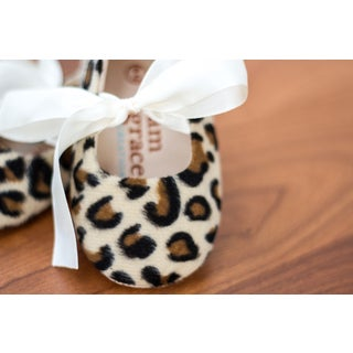 Leopard Baby Shoes