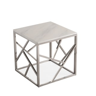 Gayle Silver End Table