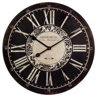 Glamorous and Vintage Hotel Wall Clock