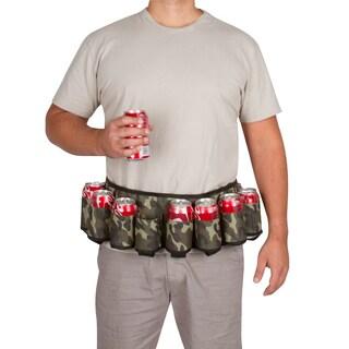 EZ Drinker Redneck Camouflage Plastic 6-pack Beer/Soda Holster Belt