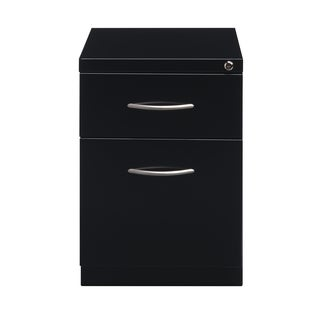 """20"""" Mobile Pedestal File with Arch Handle, Storage and File Drawer"""