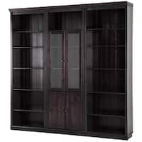 Anita Solid Pine 86-inch Tall 5-piece Wall Unit